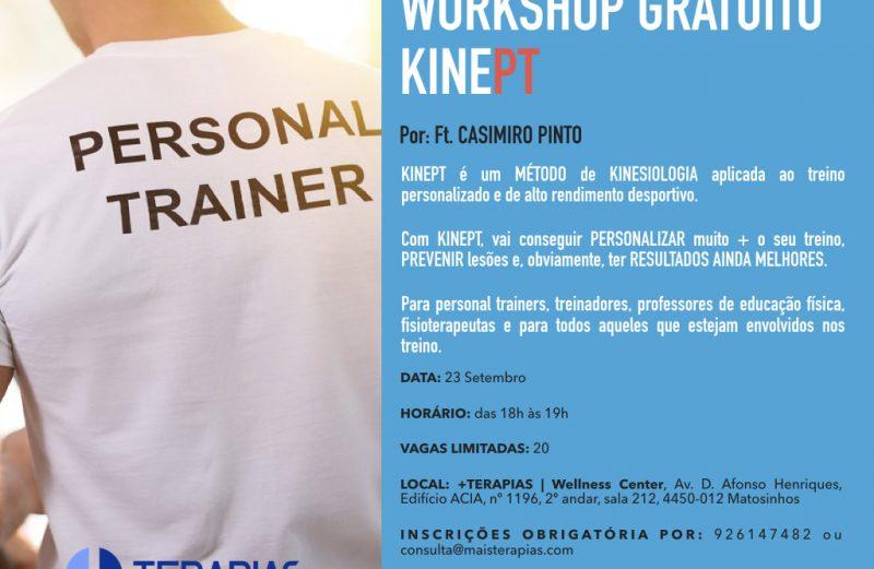 WORKSHOP GRATUITO KINEPT®