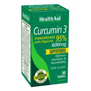 Curcumin 95% 600mg Health aid
