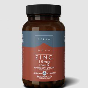 Zinc Complex 15mg Terranova